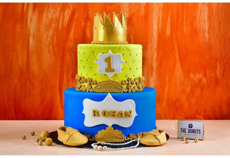 1st Birthday theme cake