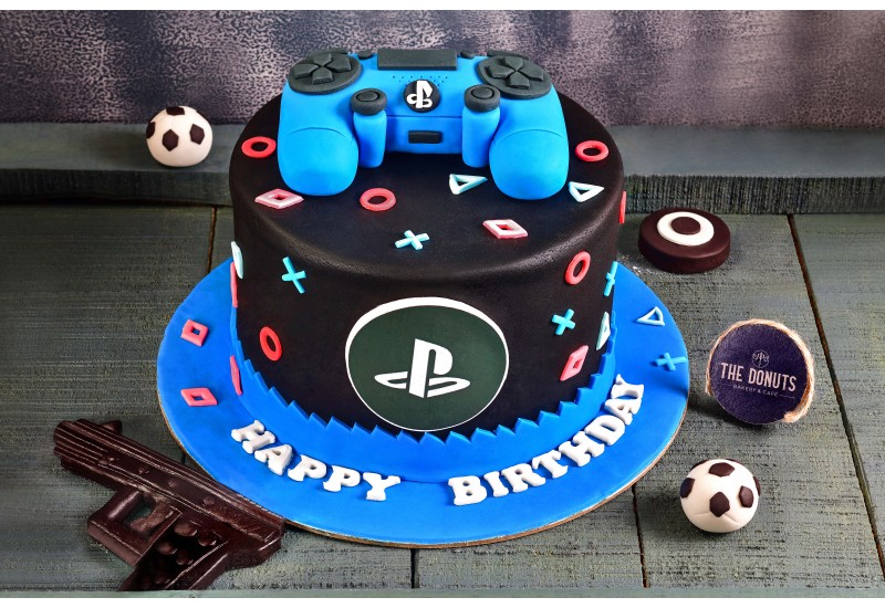 Play station Theme Cake