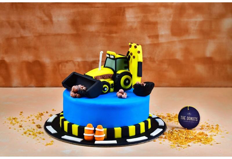 Truck Theme Cake